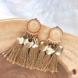 Boho Dangle Tassel Drop Earrings